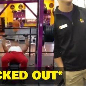 EGO LIFTER GOT KICKED OUT OF PLANET FITNESS