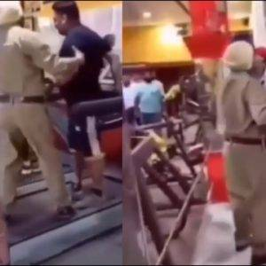 Two Guys Get Kicked Out Of Gym By Indian Police