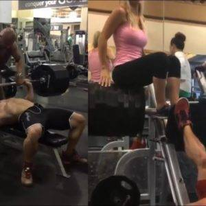 When You Bring Your Own Fake Weights To The Gym