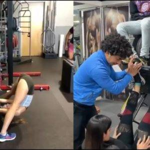 When You Try To Be A Fitness Expert