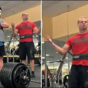 Teenager Not Allowed To Lift Weights At The Gym