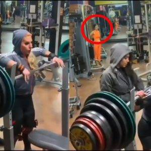Female Ego Lifter Proves Strength At The Gym