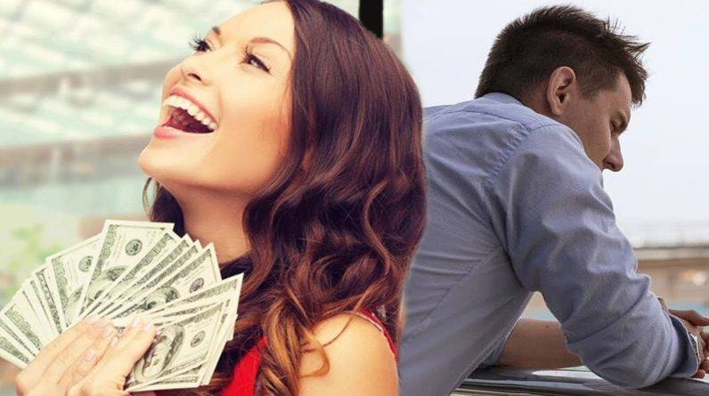 The girl dated the guy because of his money, When he found it out, he taught her a good life lesson
