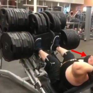 Tough Guy Takes All The Big Weights