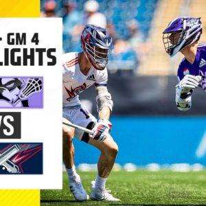 Michael Sowers' First PLL Game | Waterdogs vs. Cannons Highlights Week 1