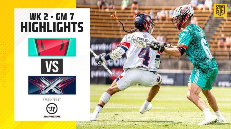 OVERTIME FINISH ON NBC! | Cannons vs. Whipsnakes Highlights Week 2