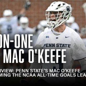LSN Interview: Penn State's Mac O'Keefe on Becoming the NCAA All-Time Goals Leader