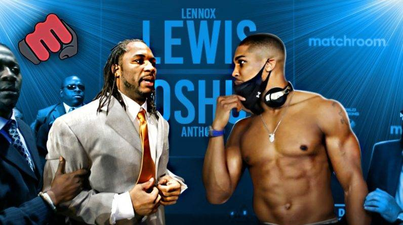 The RIVALRY Between Anthony Joshua and Lennox Lewis!